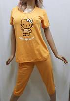 """Пижама женская футболка с бриджами """"Kitty"""", от 44 до 50 р-ра, Харьков, фото 3"""