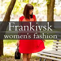 Вечірнє плаття-трапеція Rina в червоному, бежевому та чорному кольорі від. Frankivsk Fashion