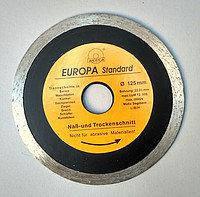 Алмазный диск Европа 125 *22,2мм. плитка