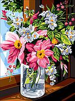"""Раскраска Антистресс для взрослых и детей """"Воспоминания о лете"""", 30 х 40 см , С Коробкой"""