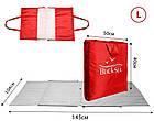 Сумка-коврик   Coverbag L красный, фото 2