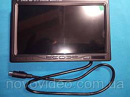 Монитор для видеонаблюдения 7 дюймов с AV, VGA и HDMI входами