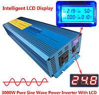 Інвертор IPOWER 24 - 220 В 3000 Вт чистий синус
