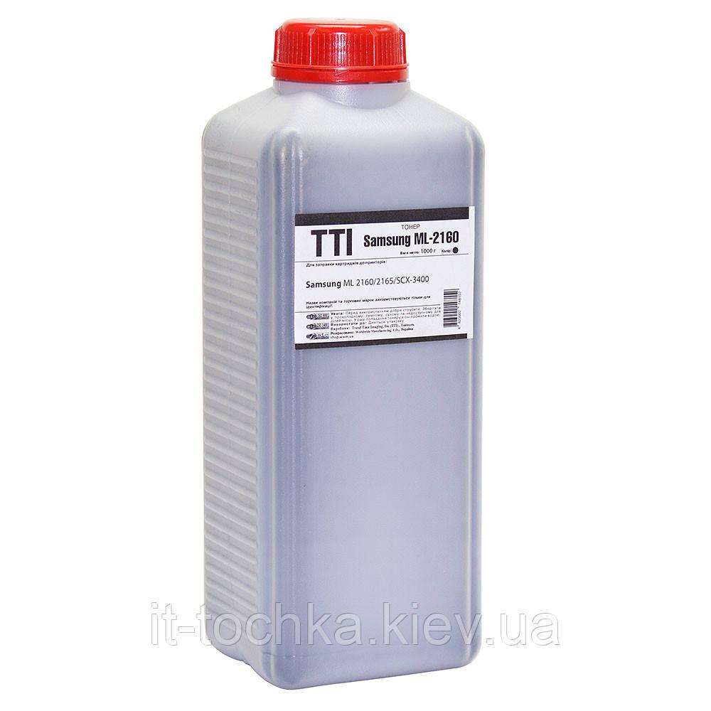 Тонер tti для samsung ml-2160/2165/scx-3400 nb-007 d1 бутль 1000г black (1401575) полиэстер