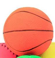 Игрушка латекс мяч баскетбол 7см (99002)
