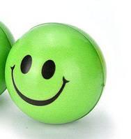 Игрушка латекс мяч для пинг понга с мордочкой 8,5 см (20001)