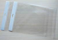 Пакетики 32х44см з єврослотом та клеючою смужкою