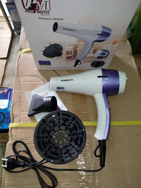 Фен для волос c диффузором Promotec PM2306 (3000W)  358 грн. - Фены ... 6b09d29056a48