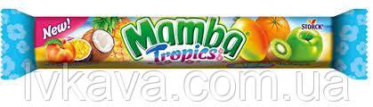 Жевательные конфеты Strock Mamba Tropics, 106 гр