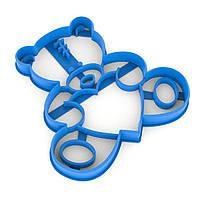 Вырубка для пряников Мишка Тедди 9*9 см (3D)