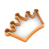 Вырубка для пряников Корона 6*9 см (3D)
