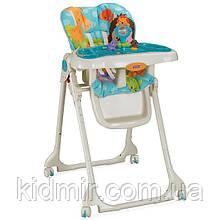 """Детский высокий стульчик для кормления """"Голубая планета"""" Fisher Price"""