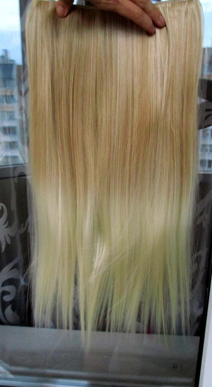 Волосы на заколках тресс затылочная прядь ТЕРМО волосы №27Т613