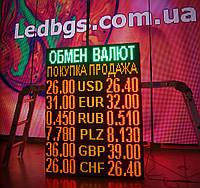 Табло обмен валют (1000х1320, 6 валют)