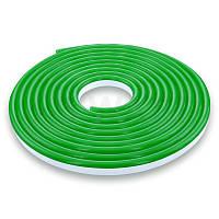 Светодиодный NEON 12В JL 2835-120 G IP65 зеленый, герметичный, 1м