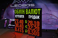 Щит обмена валют (650х800 мм, 3 валюты)