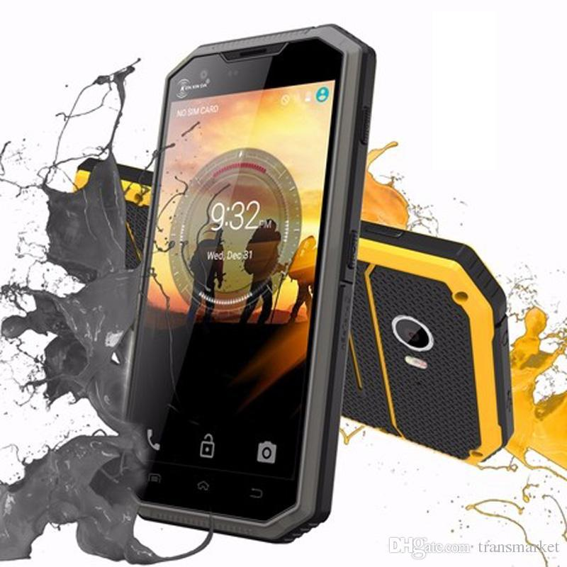 Защищенный противоударный W7 смартфон