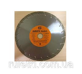 NEW !!! Алмазный диск Europa standard 350 *25,4мм  (32мм) сегмент