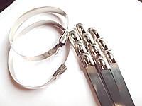Стяжка металлическая 4,6*360 (нержавеющая сталь)