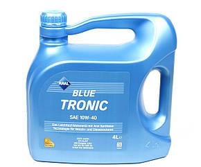 Полусинтетическое моторное масло Aral Blue Tronic 10w-40 (4л)