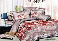 """Комплект постельного белья двуспальный, ранфорс, 3D """"Роскошная Франция"""""""