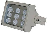 ИК LED прожектор Viatec S09D-60-A-IR, 110 метров