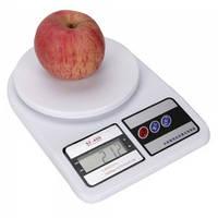 Кухонные электронные весы от 1г до 7 кг Domotec SF400