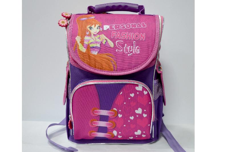 Ортопедический рюкзак-короб для девочки Smile 987911