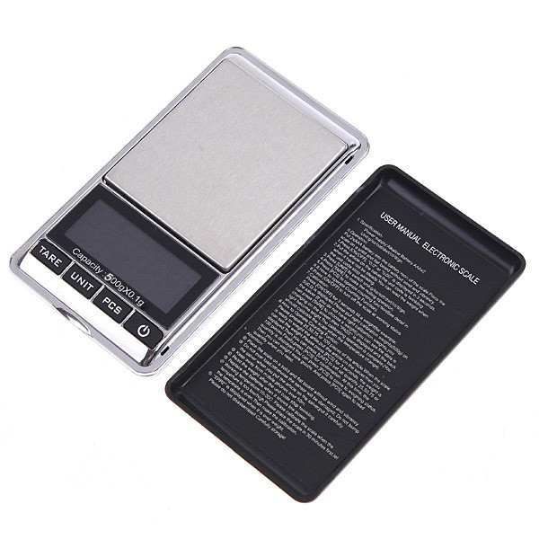 Портативные весы DS-NEW-500 (500гр/0.1гр)