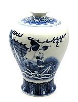 Керамическая ваза Роспись