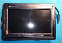 Монитор для видеонаблюдения 7 дюймов с AV входом, фото 1