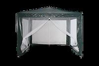 Садовый павильон 3х3м, навес с антимоскитной сеткой, шатер пасика