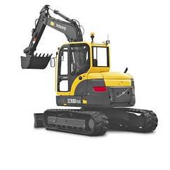 Экскаватор ECR88 Volvo Construction Equipment