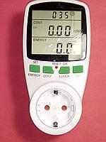 Счетчик электроэнергии  Feron TM55 с розеткой