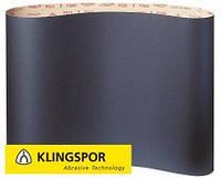 Шлифовальная лента на бумажной основе с антистатическими свойствами PS 15 F Klingspor для смолистой древесины