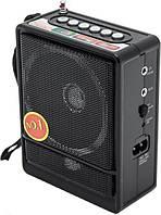 Портативная радио колонка NNS NS-047U радиоприемник ФМ
