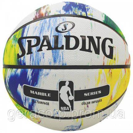 Баскетбольный мяч NBA Marble, фото 2