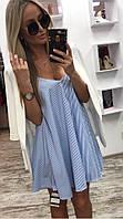 Женское модное платье-сарафан Зебра, фото 1