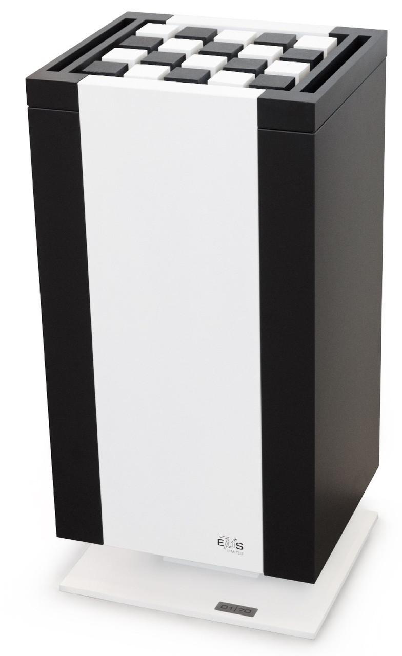 Электрокаменка EOS Mythos S35 7,5 кВт Black+White + набор камней Cubius