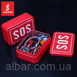 Набор для выживания SOS 6 предметов.