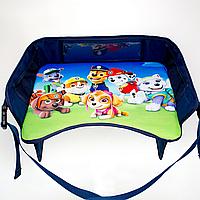 Детский столик для автокресла и коляски, синий