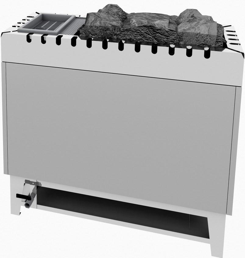 Электрокаменка Ewald Lang TYP VG90 30 + 3 кВт с парогенератором