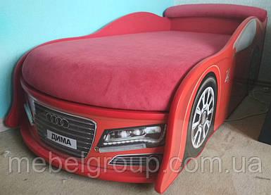 Ліжко машина Ауді червона