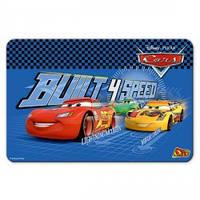 """Накладка на стіл пластикова OLLi 2405DC """"Cars"""" 430*285мм синя (1/10)"""