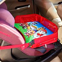 Детский столик для автокресла и коляски, красный