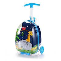 Самокат-чемодан StreetGo Kids Blue