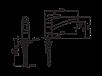 Смеситель для кухни Oras Safira 1030F с поворотным изливом, фото 3