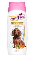 Amiwet шампунь для короткошерстных собак с маслом жожоба 200 мл