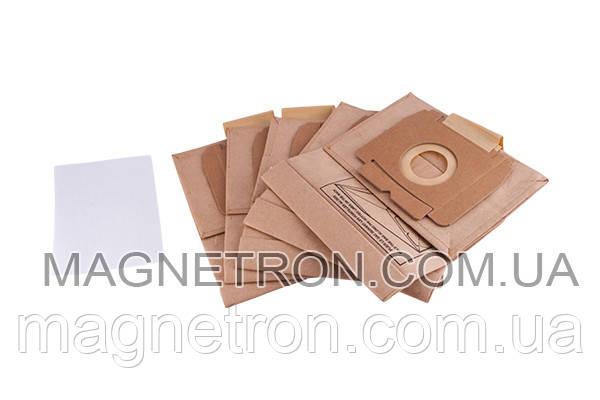 Мешок бумажный (5шт) ZA196 + 1 микрофильтр для пылесосов Zanussi 9002565506, фото 2