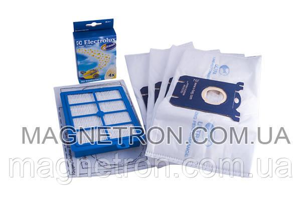 Набор мешков (4шт) USK1 S-BAG + 2 фильтра для пылесосов Electrolux USK1 9001670919, фото 2